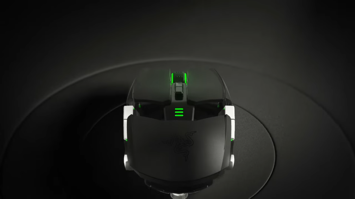 Razer Ouroboros Real Elite Gaming Mouse Black Has Been Designed To Fit Both Right And Left Handed Gamers Will Suit All Types Of Grip Styles The Headset Features 11 Programmable