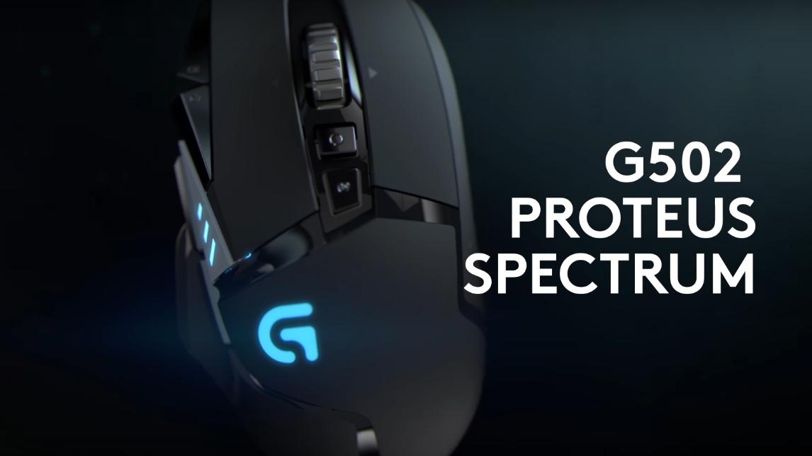 Logitech G502 Proteus Spectrum - Real Elite Gaming